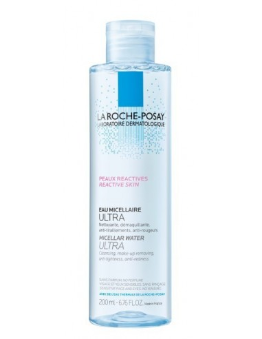 La Roche Posay Agua Micelar Ultra Pieles Reactivas, 200 ml
