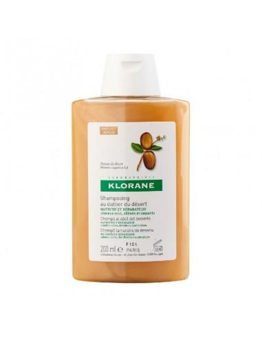 Klorane Champú al Dátil del Desierto Nutritivo y Reparador, 200 ml