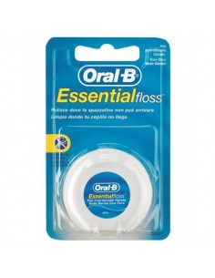 Oral-B Seda Dental con Cera Essential Floss Menta, 50m