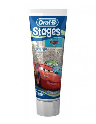 Oral-B Stages Pasta Dental Infantil 2-6 Años, 75 ml