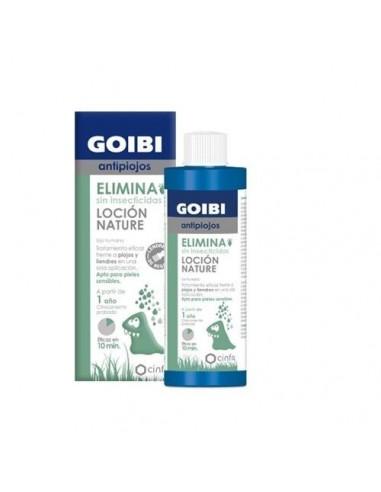 Goibi Antipiojos ELIMINA Loción Natural Sin Insecticidas, 200 ml