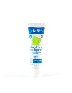 Dr Brown Natural Baby Toothpaste Pasta Dental Natural Para Bebé 40 g