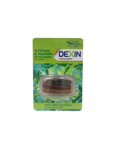 Reva Dexin Pulsera Tribal Repelente De Mosquitos, 2 Uds