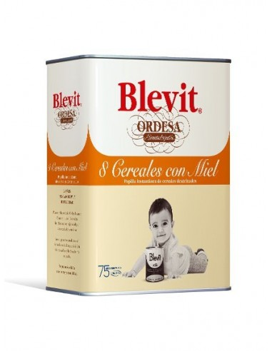 Ordesa Blevit Plus 8 Cereales con Miel, 600g