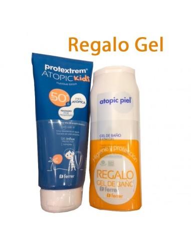 Repavar Protextrem Atopic Kids 50+, 150 ml + REGALO gel de baño 200ml
