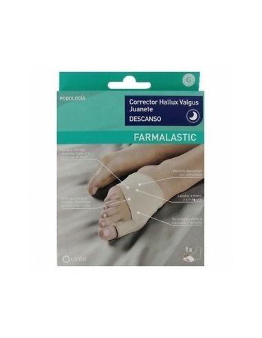 Cinfa Farmalastic Corrector Hallux Valgus Juanete Talla Grande, 1 Ud