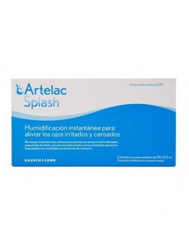 Artelac Splash Monodosis Para Ojos Irritados Y Cansados, 30x0.5 ml