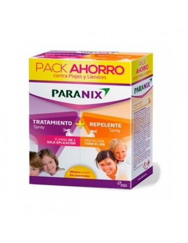 Paranix Duo Champú Antiparasit, 200 ml+Repelente de Piojos Spray 100 ml+Peine