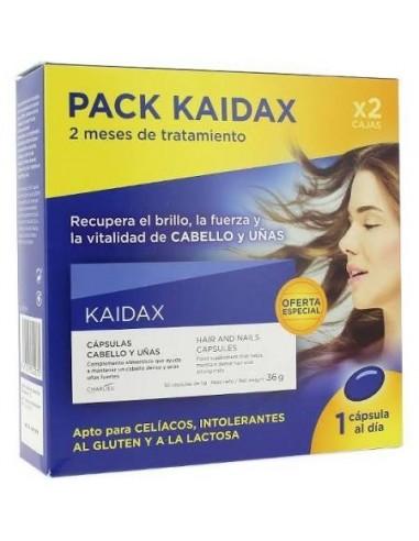 Kaidax Cápsulas Anticaída Cabello, 2x36 Capsulas