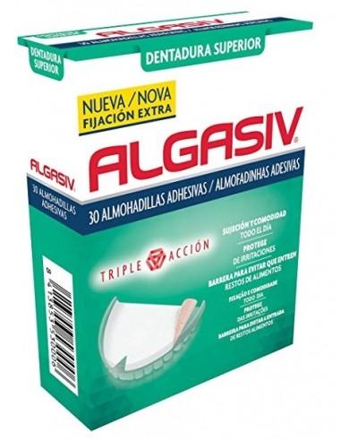 Algasiv Almohadillas Adhesivas Dentadura Superior, 18 almohadillas