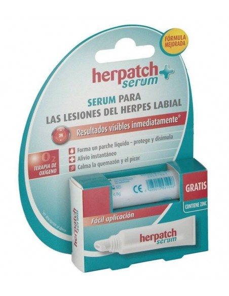 Herpatch Serum Parche Líquido Herpes Labial, 5ml