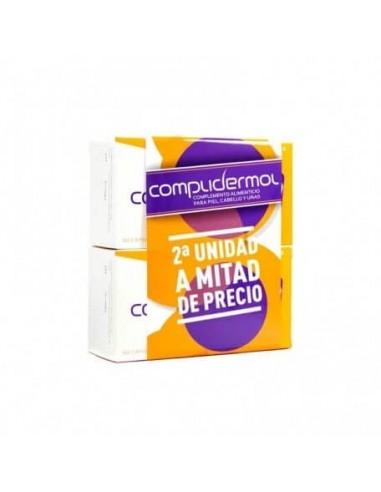 Complidermol Caída del Cabello, 2x 50 Capsulas