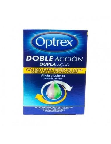 Optrex doble accion colirio picor de ojos, 10ml