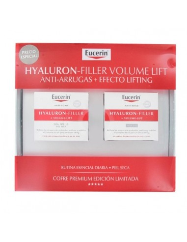 Eucerin Hyaluron-Filler + Volume Lift Crema de dia piel seca, 50ml + Hyaluron-Filler Noche, 50ml