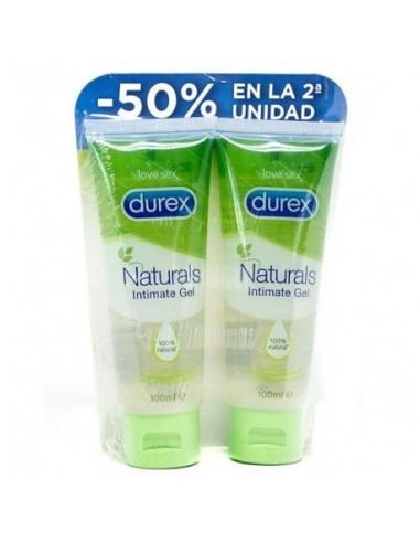 Durex Lubricante Intimo Natural 2x 100ml