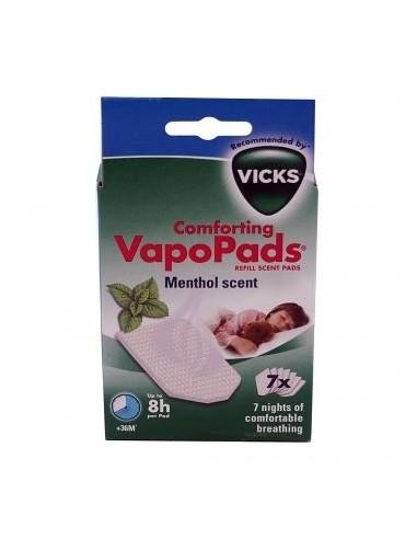 VICKS VapoPads Menthol, 7 Ud