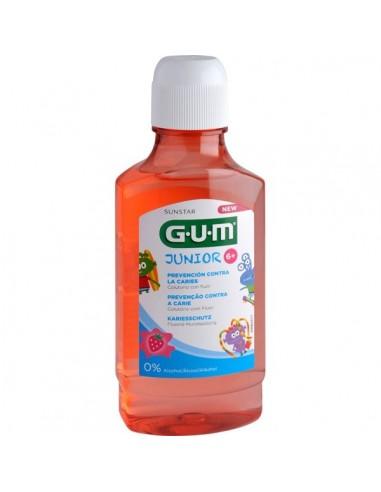 Gum Junior Colutorio, 300ml