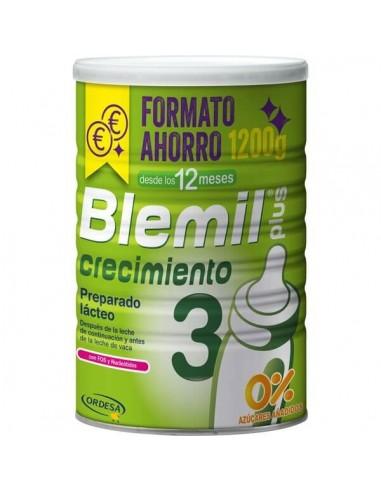 Ordesa Blemil Plus 3 Crecimiento Formato Ahorro, 1200g