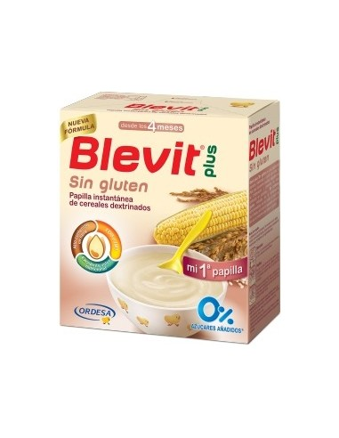 Ordesa Blevit Plus Sin Gluten, 600g