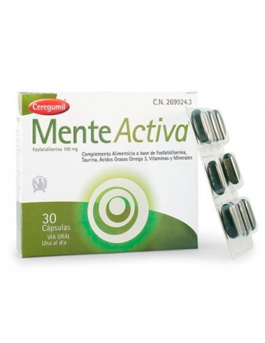 Ceregumil Mente Activa, 30Cápsulas