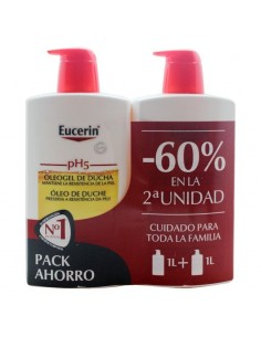 Eucerin PACK Oleogel de ducha, 2x 1000ml