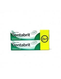 Dentabrit Pasta Dentífrica Con Flúor 2x125ml