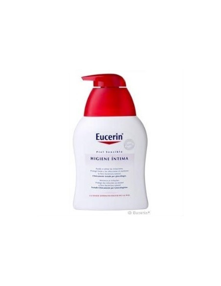 Eucerin DUPLO Higiene íntima Piel Sensible, 2x 250 ml
