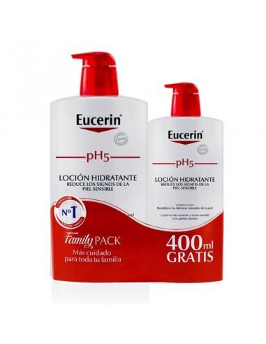 Eucerin pH5 Loción Piel Sensible 1000 ml + REGALO 400ml