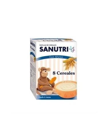 Sanutri Papilla 8 cereales, 600g