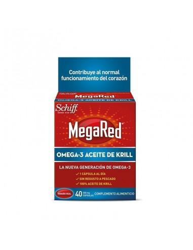 Megared 500mg Omega 3 Aceite de Krill, 30 Capsulas