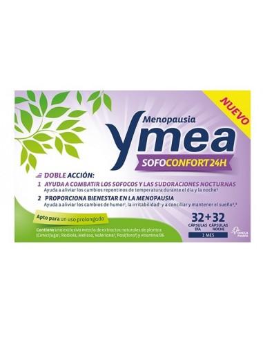 Ymea Menopausia Sofoconfort 24h, 64 Cápsulas