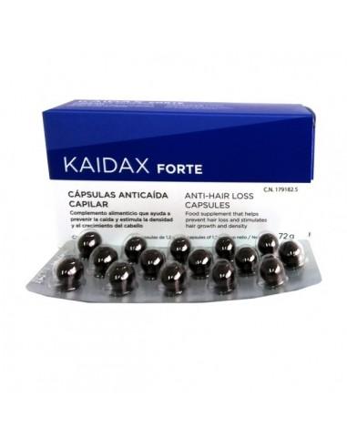 Kaidax Forte Cápsulas Anticaída Cabello, 60Ud
