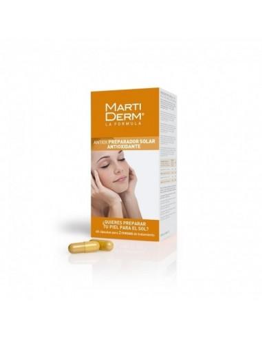 Martiderm Antiox Fotoprotección oral 60 cápsulas