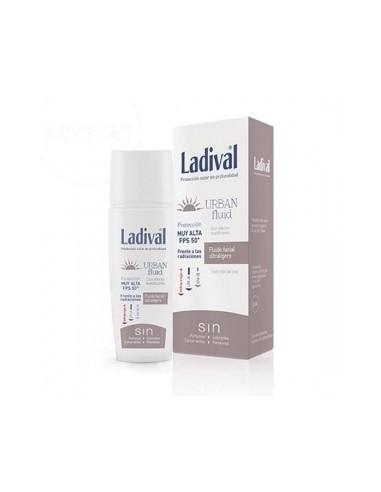 Ladival Pieles Mediterráneas Emulsión Facial Urban Fluid SPF20, 50ml