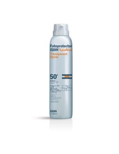 Isdin Fotoprotector Pediátrico SPF50+ Spray Transparente, 200ml
