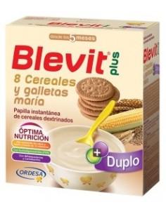 Blevit Plus 8 Cereales y Galletas María 2x 300 g