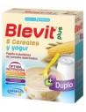 DUPLO Ordesa Blevit Plus 8 Cereales y Yogur, 2x300g