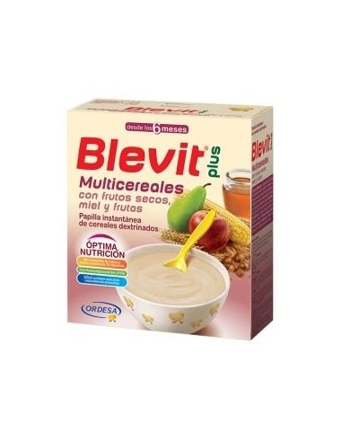 Ordesa Blevit Plus MultiCereales con Frutos Secos y Miel, 600g