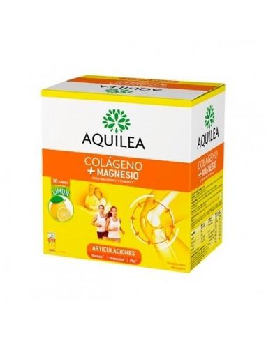 Aquilea Articulaciones Magnesio + Colageno sabor limón, 30 sobres