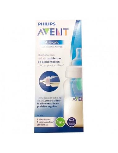 Philips Avent Biberón Anti-colic 260ml Tetina 1m+, 1Ud