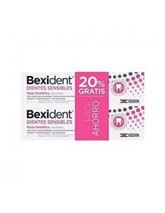 Bexident Pasta Dental Dientes Sensibles, 2x75ml