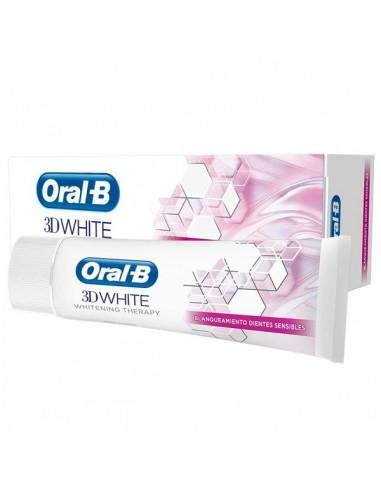 Oral B 3D White blanqueamiento dientes sensibles, 75 ml