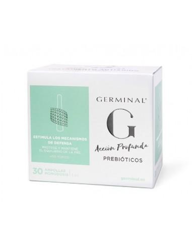 Germinal Acción Profunda Prebióticos, 30 ampollas
