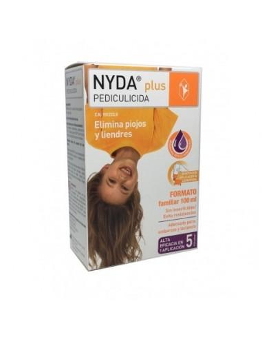 Nyda Plus Pediculicida  Formato Familiar ,100 ml