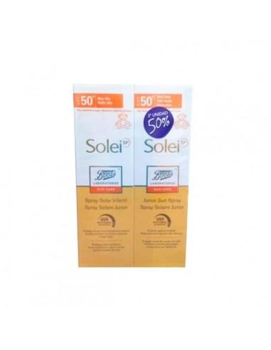 Boots Solei SP Sun Care Loción Solar SPF50+, 150ml