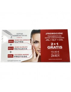 Pack Vitla Plus  JAL+GLY+COL. 3 X 15 ML