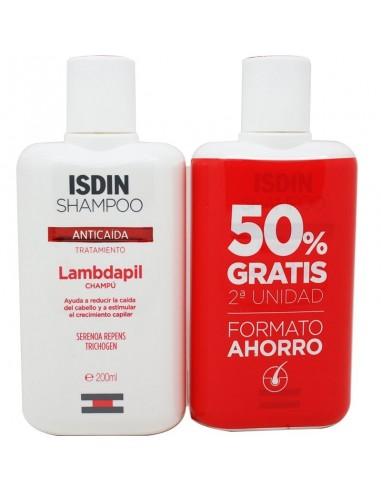 Isdin Lambdapil Champú Anticaída , 2 x 400 ml