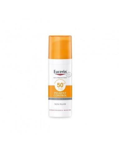 Eucerin Sun Fluid Pigment Control FPS 50+, 50 ml