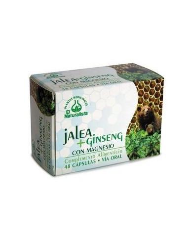 El Naturalista Jalea Real con Ginseng, 48Capsulas