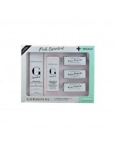 Germinal Pack Essential Hidraplus FPS30, 50 ml + Germinal Essential Contorno de Ojos,15 ml +Regalo 3 ampollas